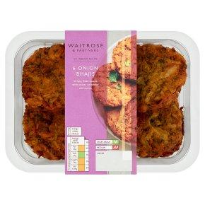 Waitrose 6 onion bhajis