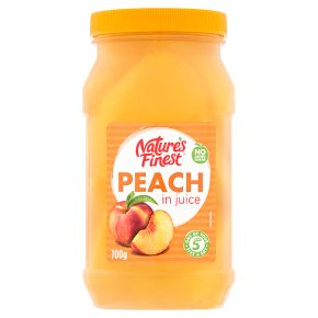Nature's Finest peach in juice