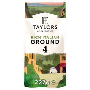 Taylors rich Italian rich roast coffee