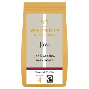 Waitrose 1 Java 100% arabica ground coffee