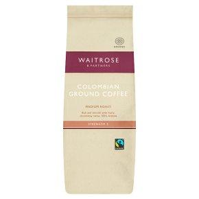 Waitrose Colombian Roast & Ground Cafetiere Coffee