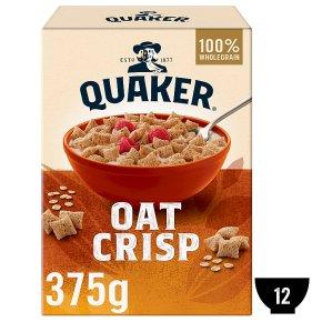 Quaker Oats oat crisp porridge cereal