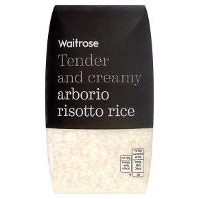 Waitrose arborio risotto rice