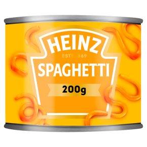 Heinz spaghetti in tomato sauce