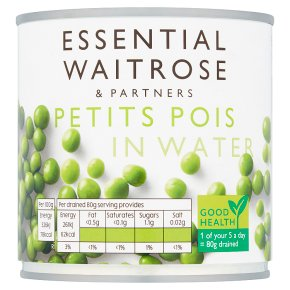 Essential Petits Pois in Water