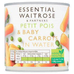 Essential Petits Pois with Baby Carrots