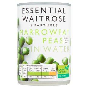 essential Waitrose canned  marrowfat peas