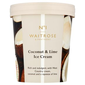 No.1 Coconut & Lime Ice Cream