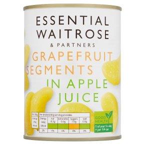 Essential Waitrose Grapefruit Segments (in fruit juice)