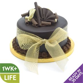 golden wedding cakes waitrose chocolate wedding cake gold small waitrose 14774
