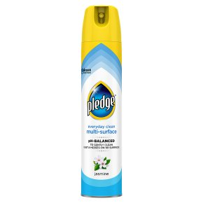 Pledge jasmine clean & dust