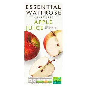 essential Waitrose pure apple juice