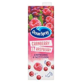 Ocean Spray cranberry and raspberry