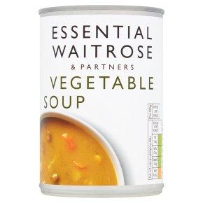 essential Waitrose vegetable soup