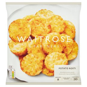 Waitrose potato rosti