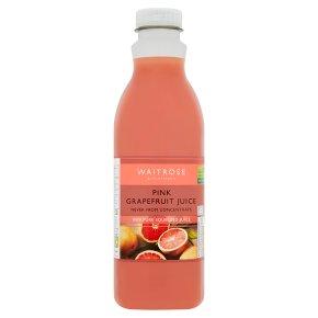 Waitrose pink grapefruit juice