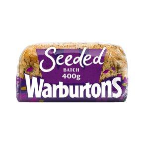 Warburtons seeded batch