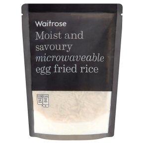 Waitrose microwave egg fried rice