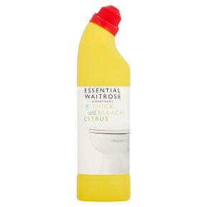 essential Waitrose citrus thick bleach