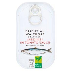 essential Waitrose sardines in tomato sauce