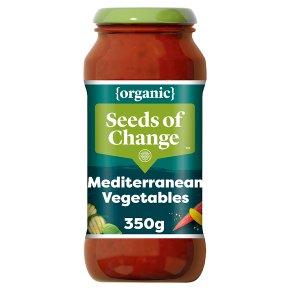 Seeds of Change pasta sauce mediterranean