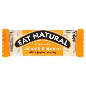 Eat Natural yoghurt coated almond & apricot bar