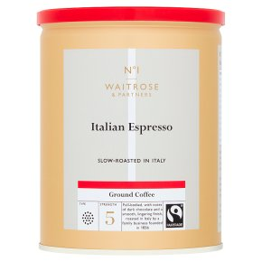 Waitrose Espresso Coffee Roasted & Ground