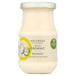 Waitrose Duchy Organic mayonnaise