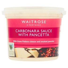 Waitrose carbonara sauce