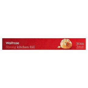 essential Waitrose aluminium foil, 30cm by 30m