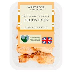 Waitrose British roast chicken drumsticks
