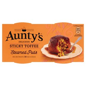 Aunty's Steamed Sticky Toffee Puddings