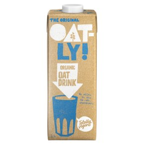 Oatly organic longlife oat drink
