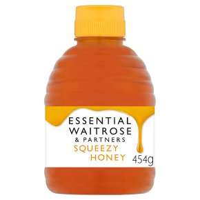 Waitrose pure clear squeezy honey