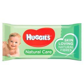 Huggies Natural Care Baby Wipes Single Pack Waitrose
