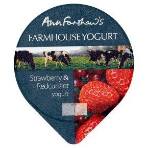 Anne Forshaw's farmhouse yogurt strawberry