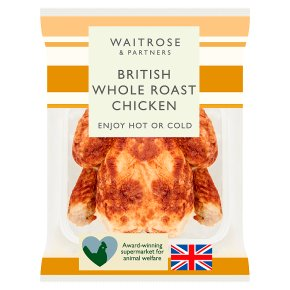 Waitrose British Whole Roast Chicken