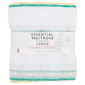 essential Waitrose large dishcloths