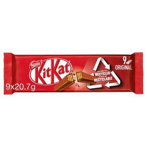 KitKat 2 Finger Milk Chocolate multipack