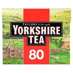 Taylors of Harrogate Yorkshire 80 tea bags