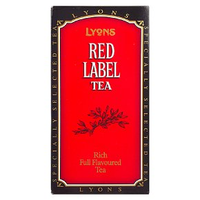 Lyons red label loose tea