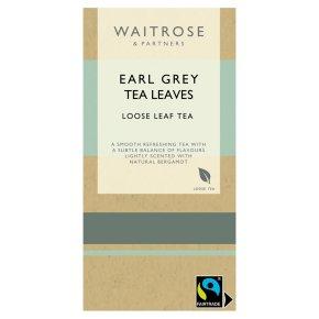 Waitrose earl grey leaf tea