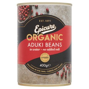 Epicure canned organic aduki beans
