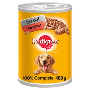PEDIGREE Dog Tin Original in Loaf 400g