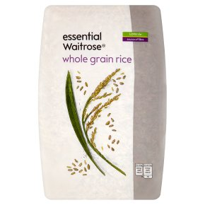 essential Waitrose whole grain rice