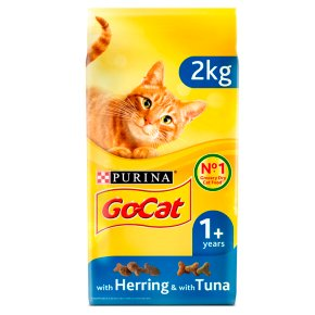 Go-Cat Adult Dry Cat Food Tuna Herring and Veg