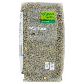 Waitrose LOVE life lentils