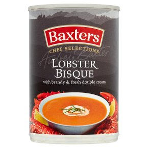 Baxters Chef Selection lobster bisque soup