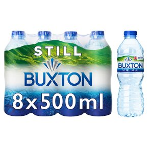 Buxton still natural mineral water