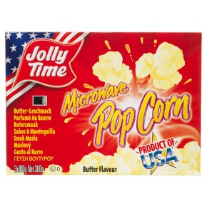Jolly Time pop corn butter